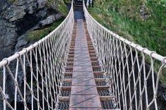 Ponte di corda Fotografie Stock