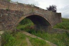 Ponte di Cowground, Siddington immagini stock
