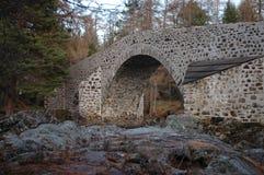 Ponte di Dee, Invercauld fotografie stock