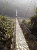 Ponte di Dhading Tresuli Immagine Stock Libera da Diritti