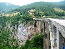 Ponte di Dzhurzhevicha Fotografie Stock