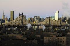 Ponte di Ed Koch Queensboro Fotografie Stock