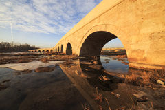 Ponte di Egri in Sivas, Turchia Fotografie Stock Libere da Diritti