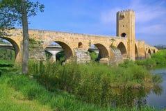 Ponte di Frias immagini stock libere da diritti