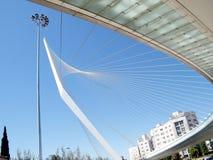Ponte di Gerusalemme delle corde 2010 Immagine Stock Libera da Diritti