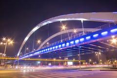 Ponte di Grozavesti, Bucarest Fotografie Stock Libere da Diritti