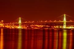 Ponte di Halifax Immagini Stock Libere da Diritti
