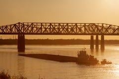 Ponte di Harahan Immagine Stock