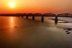 Ponte di Hardinge fotografie stock libere da diritti