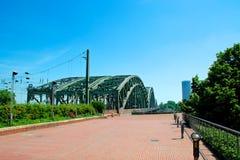 Ponte di Hohenzollern Fotografia Stock