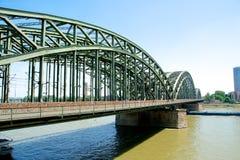 Ponte di Hohenzollern Fotografia Stock Libera da Diritti