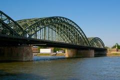 Ponte di Hohenzollern Immagini Stock Libere da Diritti