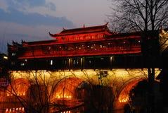 Ponte di Hong Immagini Stock