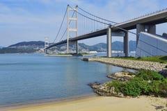 Ponte di Hong Kong Immagini Stock