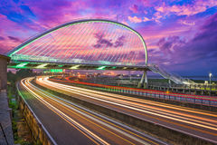 Ponte di Hsinchu, Taiwan fotografie stock