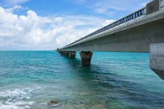 Ponte di Ikema Fotografia Stock