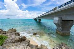 Ponte di Ikema Immagini Stock