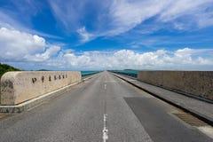 Ponte di Ikema Immagine Stock Libera da Diritti