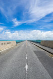 Ponte di Ikema Immagini Stock Libere da Diritti