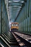 Ponte di incroci del treno Immagine Stock Libera da Diritti