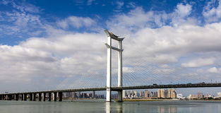 Ponte di Jinjiang Fotografie Stock