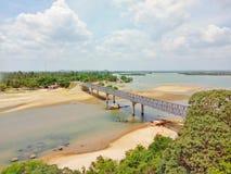 Ponte di Kinniya Immagini Stock