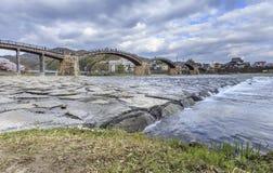 Ponte 1 di Kintai Immagine Stock