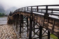 Ponte di Kintai Fotografia Stock