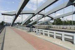 Ponte di Kotlarski a Cracovia Fotografia Stock Libera da Diritti
