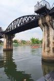 Ponte di Kwai del fiume Immagini Stock Libere da Diritti