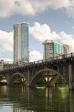 Ponte di Lamar in Austin Texas fotografia stock