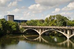 Ponte di Lamar in Austin Texas fotografie stock