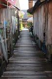 Ponte di legno Immagini Stock Libere da Diritti