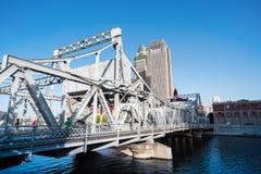 Ponte di liberazione di Tientsin immagine stock libera da diritti