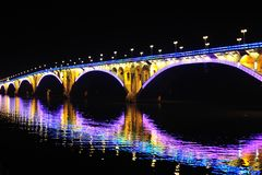 Ponte di Lit Fotografie Stock