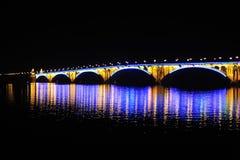 Ponte di Lit Fotografia Stock Libera da Diritti