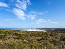 PONTE DI LONDRA - PORTO CAMPBELL, GRANDE STRADA DELL'OCEANO, AUSTRALIA Fotografie Stock Libere da Diritti