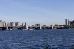 Ponte di Longfellow a Boston, mA Immagine Stock