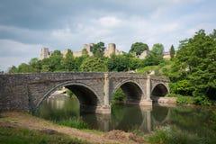 Ponte di Ludlow Fotografie Stock Libere da Diritti