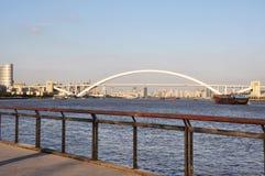 Ponte di Lupu a Shanghai Immagini Stock Libere da Diritti