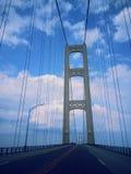 Ponte di Mackinac Fotografia Stock