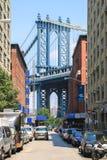 Ponte di Manhattan, New York Immagine Stock Libera da Diritti