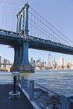 Ponte di Manhattan a New York Fotografie Stock Libere da Diritti