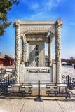 Ponte di Marco Polo che wanping a Pechino Fotografie Stock