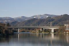 Ponte di Maribor Immagine Stock Libera da Diritti
