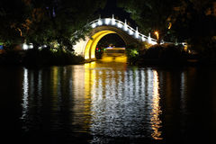 Ponte di marmo a Guilin, fotografia stock libera da diritti