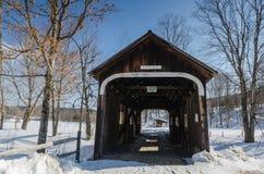 Ponte di McWilliam - Grafton, VT immagini stock libere da diritti