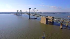 Ponte di memoriale di Delaware archivi video