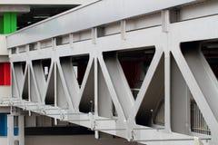 Ponte di metallo Immagini Stock Libere da Diritti