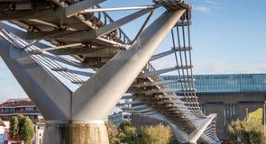 Ponte di millennio Immagine Stock Libera da Diritti